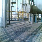 Reja de acero serrada soldada de la galvanización de la INMERSIÓN caliente del fabricante profesional
