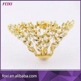 ブラジル大きいデザイン女性のための水晶宝石類の魅力のリング