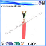 Bergbau-Kabel mit der Belüftung-Isolierung/Hüllen-dünnem Stahldraht gepanzert