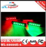 luz de advertência da grade do traço do diodo emissor de luz 4X6, Lighthead