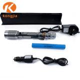 Зум аккумулятор алюминиевых светодиод аварийного фонаря классический металлический фонарик