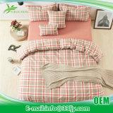 Couvre-lits de coton d'usine de piste de coton de loge
