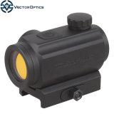Vector Optics Torrent 1X20 3MOA visor táctico caza Reflex Red Dot Sight con liberación rápida Qd 20mm Montaje Weaver
