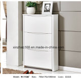 A madeira maciça 3 gavetas de equipamento para armário de armazenamento para venda