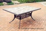 PC 7, der gesetzte Gussaluminium-Möbel für Garten speist