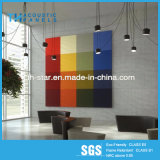 Декоративная Absorbing панель волокна полиэфира панели акустическая