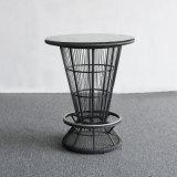 رماديّ [ب] [رتّن] حافة طاولة مجموعة على عمليّة بيع