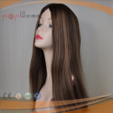 Parrucca diritta serica dei capelli umani (PPG-l-0199)