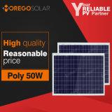 Comprare il comitato solare vendita del comitato solare di volt 50W della Cina 12 nella mini per uso domestico