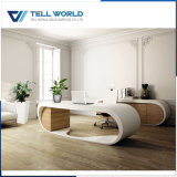 Hot Sale Accueil Mobilier moderne blanc Table d'ordinateur de bureau