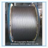 Conduttore di alluminio del cavo elettrico del conduttore della lega AAAC