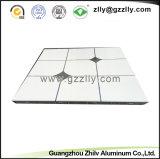 Soffitto di alluminio quadrato decorativo del metallo 600*600 con 12 anni di esperienza