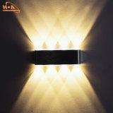 Светильник стены желтого огня 8W СИД хорошего качества светлый напольный