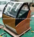 Étalage de congélateur de glace de Neuf-Mode/congélateur crême glacée/cas d'exposition de Gelato