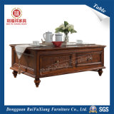 Деревянный кофейный хранения данных в таблице (P310)