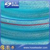 Aucun boyau de tissu-renforcé flexible de qualité de PVC d'odeur