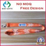 Acollador colorido de la cuerda de la cinta promocional con el sostenedor de Keychain