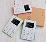 Оптовая торговля мини-Форма Кредитной Карты мобильного телефона GSM кармана телефон M5 для студентов и Детский