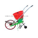 Máquina do propagador do fertilizante da mão da agricultura para a semente e o fertilizante