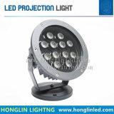 IP65 12W het LEIDENE van de Vloed Licht van het LEIDENE Licht van de Projectie/