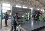 浴室、壁、家具、体操、大広間のための銀製ミラーは中国Sinoy (SMG-1601)からカスタムサイズおよび形2mm-6mmthicknessと、構成する
