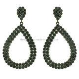 Manier Geplateerde Eardrop van CZ van Juwelen Mooie Oorringen voor Dame Ke3097