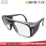 Schwarze Sicherheits-Industrie-schützende Arbeits-Schutzbrillen (JMC-398F)