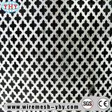Acoplamiento de hoja perforado perforado de metal