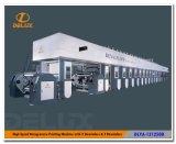 Máquina de impressão de alta velocidade do Rotogravure de Shaftless auto (DLYA-131250D)