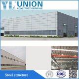 Plan de construcción prefabricados por el bastidor de la estructura de acero Estructura de acero de diseño de la construcción de nave industrial
