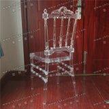 Neuer Hochzeits-Polycarbonat Phenix Napoleon des Entwurfs-Yc-As75 Kristalltransparenter Luxuxacrylsauerstuhl