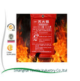 одеяло Retardant жары пожара стеклоткани 1.0*1.0m/1.2*1.2m