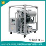 Etapa doble equipo purificador de aceite del transformador de vacío