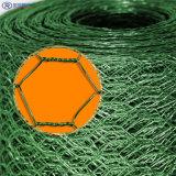 Болт с шестигранной головкой с покрытием из ПВХ проволочной сеткой, ПВХ расположенных с шестигранной головкой и провод ограждения