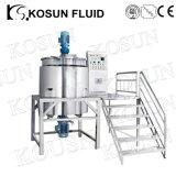Electirc vertical depósito mezclador de calefacción y refrigeración líquida de especificaciones para