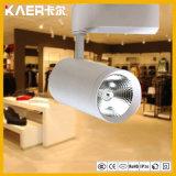 30W à LED blanc/noir COB feux de piste
