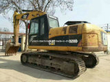Usados na Cat 320d escavadora de rastos Caterpillar Escavadeira Original para venda