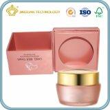 Rectángulo de empaquetado cosmético con el sellado de oro (rectángulo de papel para la crema de Skincare)