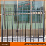 Tubo de revestimiento de polvo de los paneles de valla de hierro forjado.