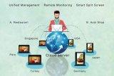 7 supporto WiFi del menu della Tabella dello schermo di pollice HD che fa pubblicità alla centrale elettrica