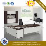 Muebles de oficinas modernos L escritorio de oficina ejecutiva de la melamina de la dimensión de una variable (HX-8N0006)