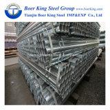 Il programma 40 del materiale da costruzione ASTM A53 ha galvanizzato il tubo d'acciaio, il rivestimento d'acciaio 60-400G/M2 dello Zn dei tubi di Gi con l'alta qualità