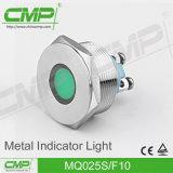 25mm Metallpin-rote und grüne am Endeanzeigelampe