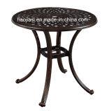 옥외/정원/안뜰 등나무 주조 알루미늄 테이블 HS6116dt