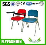 Silla plástica cómoda del entrenamiento con la pista de escritura (SF-18F)