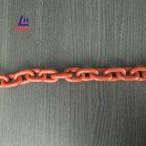 Пластичная Coated цепь стали сплава G100 поднимаясь