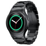 Metal de 20mm tres enlaces Watch Band Marcha para Samsung S2