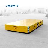 ほえる湾のためのモーターを備えられた平らなカートはセメントの床の輸送のカートを停止する