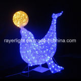 Decorative illumination 3D Light LED Toy Penguin Outdoor Reason Light