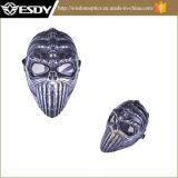 Тактическая маска Airsoft полной стороны сетки черепа для CS